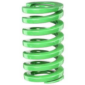 Die Spring: Light Duty, Green, For 1 1/4 in Hole Size, 5 1/2 in Overall Lg, For 5/8 in Rod Size, 299 lb Max Load, 5 PK