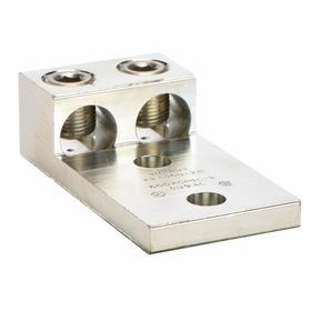 Aluminum universal set screw lug 2 terminations gamut aluminum universal set screw lug 2 terminations for 2 awg min wire size keyboard keysfo Gallery