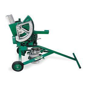 Greenlee Mechanical Bender: For 2 in Pipe Dia, 2 5/8 in Min Bend Radius, 9 1/8 in Max Bend Radius, 6 Shoes, 8 Pieces