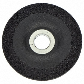 """Norton General Purpose Grinding Wheel: 4 1/2 in Wheel Dia, 5/8""""-11 Center Hole Thread Size, 1/4 in Wheel Thickness, 24 Grit"""