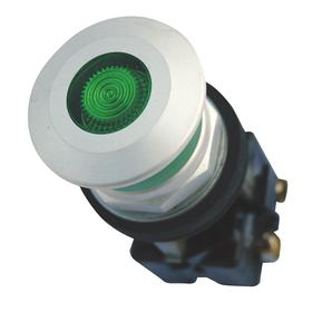 Eaton Emergency Stop Push Button: 12 A @ 600V AC Contact Rating, Mushroom Operator, Illuminated, 1NC Pole-Throw Configuration, Maintained, Green