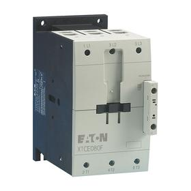 Eaton IEC Magnetic Contactor: 3 Poles, Single/Three Phase, 80 A Current Rating, 240VAC Control Volt, Compact Body