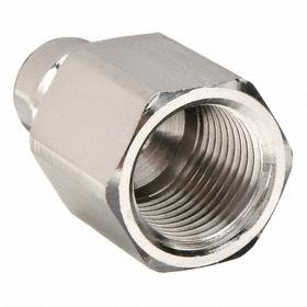 Parker Hannifin Quick-Disconnect Plug: Snap-Tite H Compatible, 1/4 in Coupling Size, Stainless Steel, Buna-N, 1/8 Pipe Size, NPT