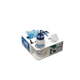 Organizer: PVC, 10 1/2 in Wd, 4 1/2 in Ht, 70 Haz Material Indicator