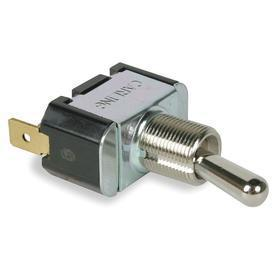 Carling General Duty Toggle Switch: 3 Positions, 20 A @ 250V AC Switch Rating, 2 Poles, Circuit 2 On-Circuit 1 On-Off