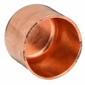 Wrot Copper Cap: 3 Pipe Size