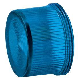 Siemens Pilot Light Lens: Blue, For Siemens 30mm Pilot Lights, 18 Haz Material Indicator, Fresnel