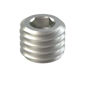 Cone Point Set Screw: 18-8 Stainless Steel - Gamut
