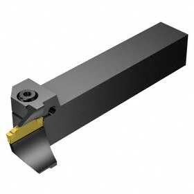 Sandvik Coromant Parting & Grooving Holder for Carbide Insert: CoroCut 1-2, 123 Insert, Left Hand, Face Grooving