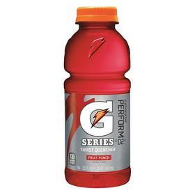 Gatorade Sports Drink: Fruit Punch, 20 fl oz Yield, 24 PK