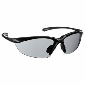 Radians Sniper Safety Glasses: Wraparound Frame, Scratch Resistant, Gray, ANSI Z87.1, Nylon, Unisex, Polycarbonate
