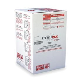 Handheld Flashlight: Bulb Recycling Box, 16 in Overall Lg, 25 in Overall Ht, 16 in Overall Wd, 58 lb Wt Capacity