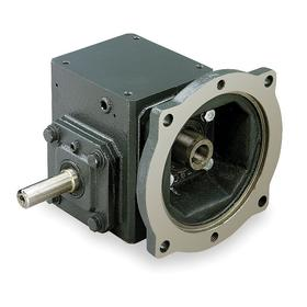 Right-Angle C-Face Speed Reducers: 10:1 Nominal Ratio, Single, Left Hand, 175 RPM Nominal Output Speed, 56C