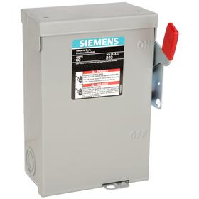 Siemens Air Conditioning Disconnect Switch Single Phase 2 Poles