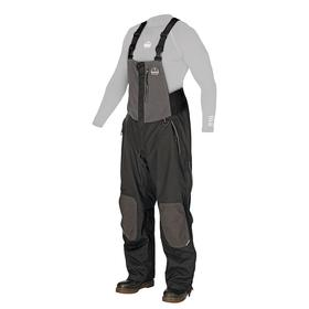 Ergodyne Bib Coverall: Nylon, Black, Zipper, 0 Inside Pockets, Men, 38 Max Waist, 32 in Inseam Lg, L Size, Elastic