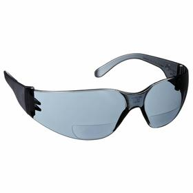 Gateway Safety Bifocal Safety Reading Glasses: Gray, Frameless Frame, Scratch Resistant, ANSI Z87.1+/CSA Z94.3/MIL PRF-31013