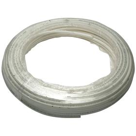 PEX Tubing: For Air/Ethylene Glycol/Potable Water/Propylene Glycol, White, 300 ft Overall Lg, B, 3/4 PEX Size, 7/8 in OD