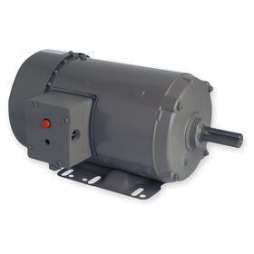 General Purpose Farm Duty Motor: 1 1/2 hp Output Power, 1745 RPM Nameplate RPM, 56 NEMA Frame Size, 230V AC/460V AC