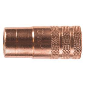 Tweco Velocity MIG Welding Gun Nozzle: Up to 450 A Amperage Range, 0.625 in Bore Dia, Threaded, 2 PK
