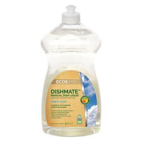 Earth Friendly Products Manual Dishwashing Detergent: Liquid, 25 fl oz Size, Bottle, Unscented