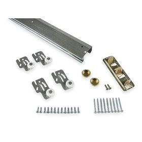 Sliding Door Hardware Kit: For Sliding Doors, For 3/4 in Min Door Thickness, For 1 3/8 in Max Door Thickness