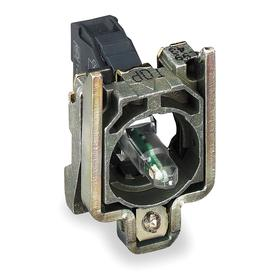 Schneider Electric Lamp Module with Bulb: Lamp Module with Mounting Base, Green, 120V AC/DC, Includes Bulb