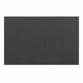 SBR Sheet: 1/4 in Thickness, 12 in x 24 in Size (W x L), ASTM D2000 AA, 70A Shore Hardness, Black