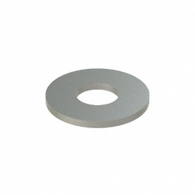 Flat Washer: 18-8 Stainless Steel, For 7/8 in Screw Size, 0.938 in ID, 2 in OD, 0.165 in Thickness, 5 PK