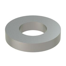 Oversized Flat Washer: 18-8 Stainless Steel, For 1/2 in Screw Size, 0.532 in ID, 1.125 in OD, 0.188 in Thickness, 25 PK