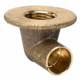 Mueller Copper Pipe Elbow: Cup, Elbow Fitting Type - Gamut