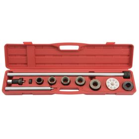 Stanley Proto Bearing Puller Set: 2 5/8 in Max Spread, 1 1/8 in Min Spread, Installation, Black/Silver/White, 10 Pieces