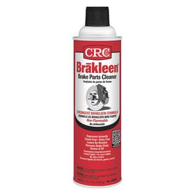 CRC Brakleen Solvent-Based Degreaser & Cleaner for Parts Washers: Water, 20 oz Size, Aerosol Can