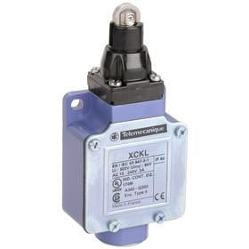 Schneider Electric Roller Plunger Miniature Limit Switch: Zinc, 1NO/1NC Pole-Throw Configuration, 1.71 in Actuator Lg