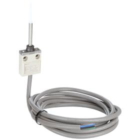 Omron Wobble Stick Miniature Limit Switch: Aluminum, 1NO/1NC Pole-Throw Configuration, 3.15 in Actuator Lg, Top