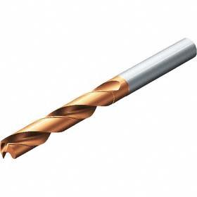 Carbide Jobbers-Length Twist Drill Bit: Super Life TiAlN, 5xD Dp x Dia Ratio, Metric Drill Dia Measurement System, 6.90 mm Drill Dia, 53 mm Flute Lg