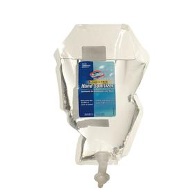 Clorox Hand Sanitizer: 1,000 mL Container Size, Refill, Unscented, Gel, Clear, Contains Alcohol, Ethyl Alcohol 71%, 6 PK