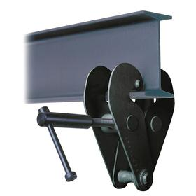 Lifting & Suspending Beam Clamp: Pin, 3 3/16 in to 12 19/32 in For Flange Wd Range, For 5/16 in Max Flange Thickness