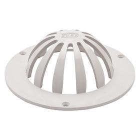 Zurn Roof Drain Dome: 2 in Pipe Size, 2 in Ht - Gamut