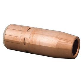 Radnor MIG Welding Gun Nozzle: Std Nozzle, Copper, 0.75 in Bore Dia, California Prop65 Org, California Prop65 Wht, Heavy Duty, 2 PK