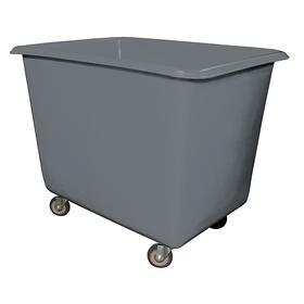 High Maneuverability Cube Truck: 20 cu ft Max Volume Capacity (cu ft), Corner Caster Configuration, (4) Swivel Casters