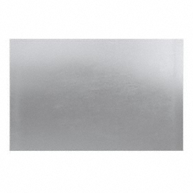 430 Stainless Steel Foil: ASTM A240, Mill, 3/250 in Thickness, +/- 10% Thickness Tolerance, 1 in Wd, 1 ft Lg, 430 Grade