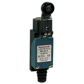 Honeywell Roller Lever Miniature Limit Switch: Plastic/Zinc, 1NO/1NC Pole-Throw Configuration, Nylon, Metal, 1 in Overall Wd