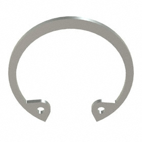 Internal Retaining Ring: Stainless Steel, Passivated, HO-87 Ring, For 7/8 in Bore Dia, For 0.931 in Groove Dia, 5 PK