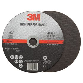 3M Cut-Off Wheel for Cool & Fast Cutting: Type 1 Type, 7 in Wheel Dia, 7/8 in Center Hole Dia, 0.045 in Wheel Thickness