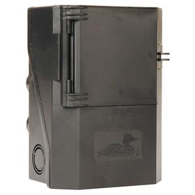 GE Air Conditioning Disconnect Switch: Single Phase, 60 A @ 240V AC Switch Rating, 3 hp @ 240V AC Output Power - Single Phase