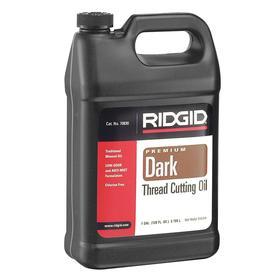 Ridgid Thread-Cutting Oil: Iron/Steel, 1 gal, Jug, Black
