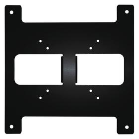 Back Panel: Black, 7 in Overall Lg, 2 1/2 in Overall Wd, 2 in Overall Ht, For Network Video Recorders