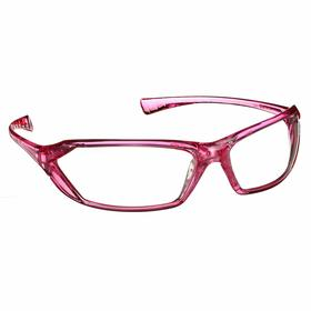 Gateway Safety Safety Glasses: Clear, Full Frame, Scratch Resistant, Pink, ANSI Z87.1+/MIL PRF-31013, Women