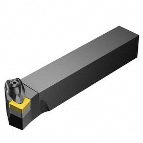 Sandvik Coromant Indexable Turning Toolholder: 1 1/4 in Shank Wd, 1 1/4 in Shank Ht, 6 14961/100000 in Overall Lg