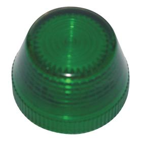 Eaton Pilot Light Lens: 2.93 in Overall Lg, Designed for Most Rugged Industrial Applications, Green, Repl Lens